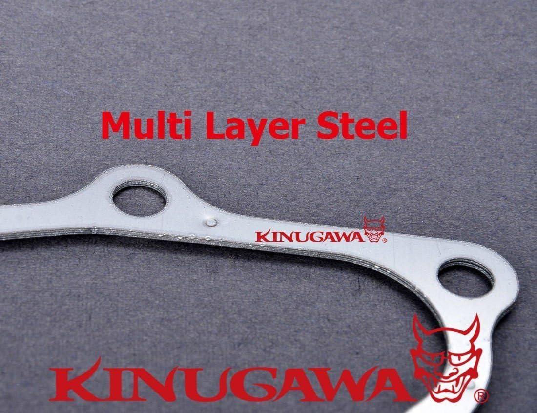 Full Kit Fit RB25DET Skyline Stock T3 Top Mount Kinugawa Turbo Oil /& Water Line Kit