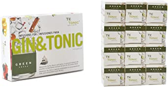 Te Tonic Experience amante de GIN Pack 24 infusiones - verde ...