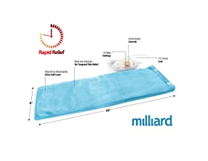 Milliard Electric Heating Pad Review