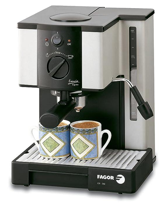 Fagor CR-282, Plata/Negro, 1000 W, AC 220-230V@50Hz, 255 x ...