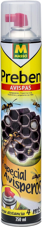 Preben 231206 - Insecticida avisperos, 6.5 x 35.2 x 6.5 cm, color transparente