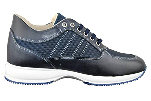 Scarpe Uomo Sportive Casual Tipo MOD. Hogan Blu (42)  Amazon.it ... 880ccd4a378