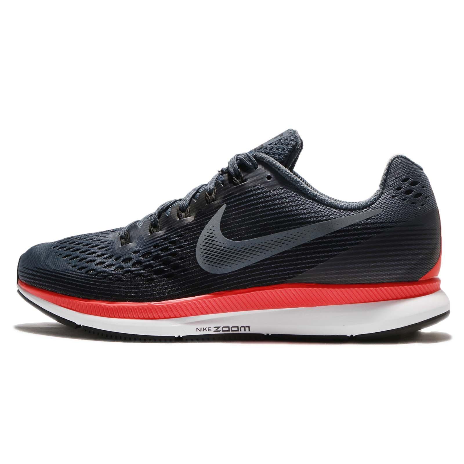 Nike Women's Air Zoom Pegasus 34 Running Shoes-Blue Fox/Black-5 by Nike (Image #1)