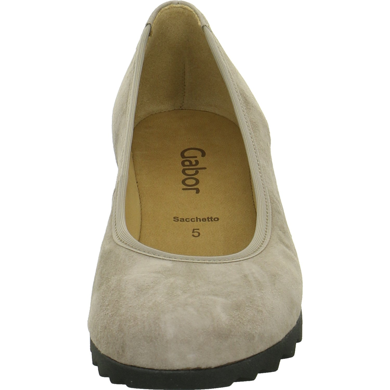 Gabor Damen Fashion Ballerinas Ballerinas Fashion Taupe Suede 2cf29b