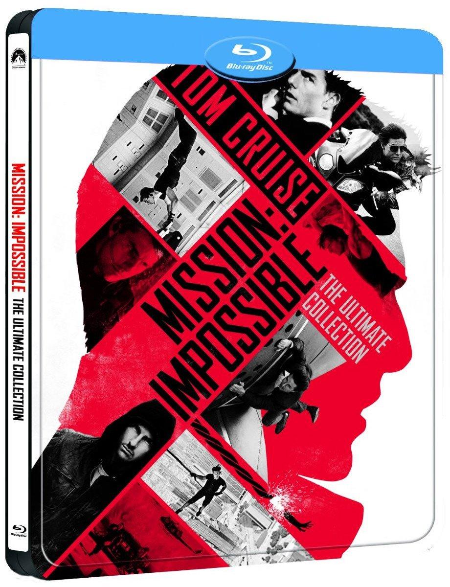 Pack: Misión Imposible 1-5 - Edición Metálica Blu-ray: Amazon.es ...