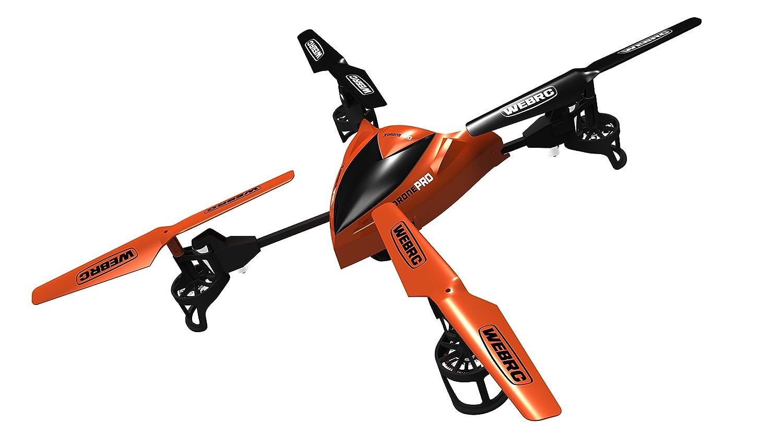 Grooyi WebRC X-Drone Pro RC Helicopter: Amazon.es: Juguetes y juegos