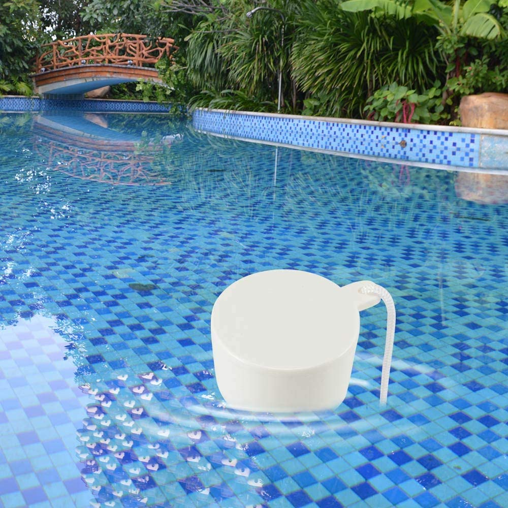 Large Display with String Easy to Read for Outdoor and Indoor Swimming Pools Spas Sunsbell Floating Pool Thermometer