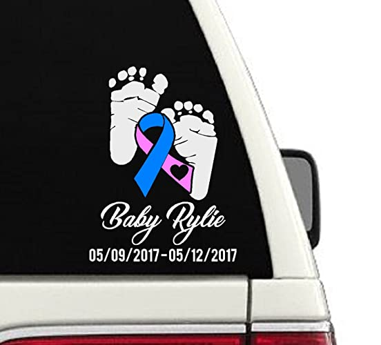 In Loving Memory Car Decals >> Amazon Com Sids Baby Memorial Car Decal In Loving Memory Of Decal