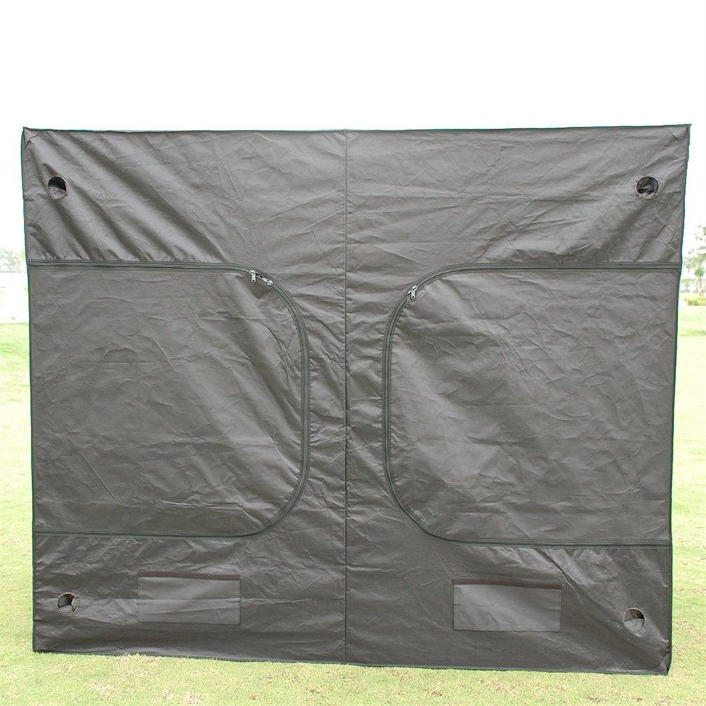 Noir Blackpoolal 240 x 120 x 200CM Tente de Culture Hydroponique R/ésistante /à lEau pour la Culture de Plantules en Int/érieur