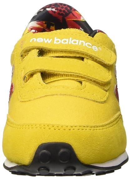 New Balance Kinder-Unisex NBKE410TOP Gymnastik, Giallo (Yellow Red), 32 1/2  EU: Amazon.de: Schuhe & Handtaschen