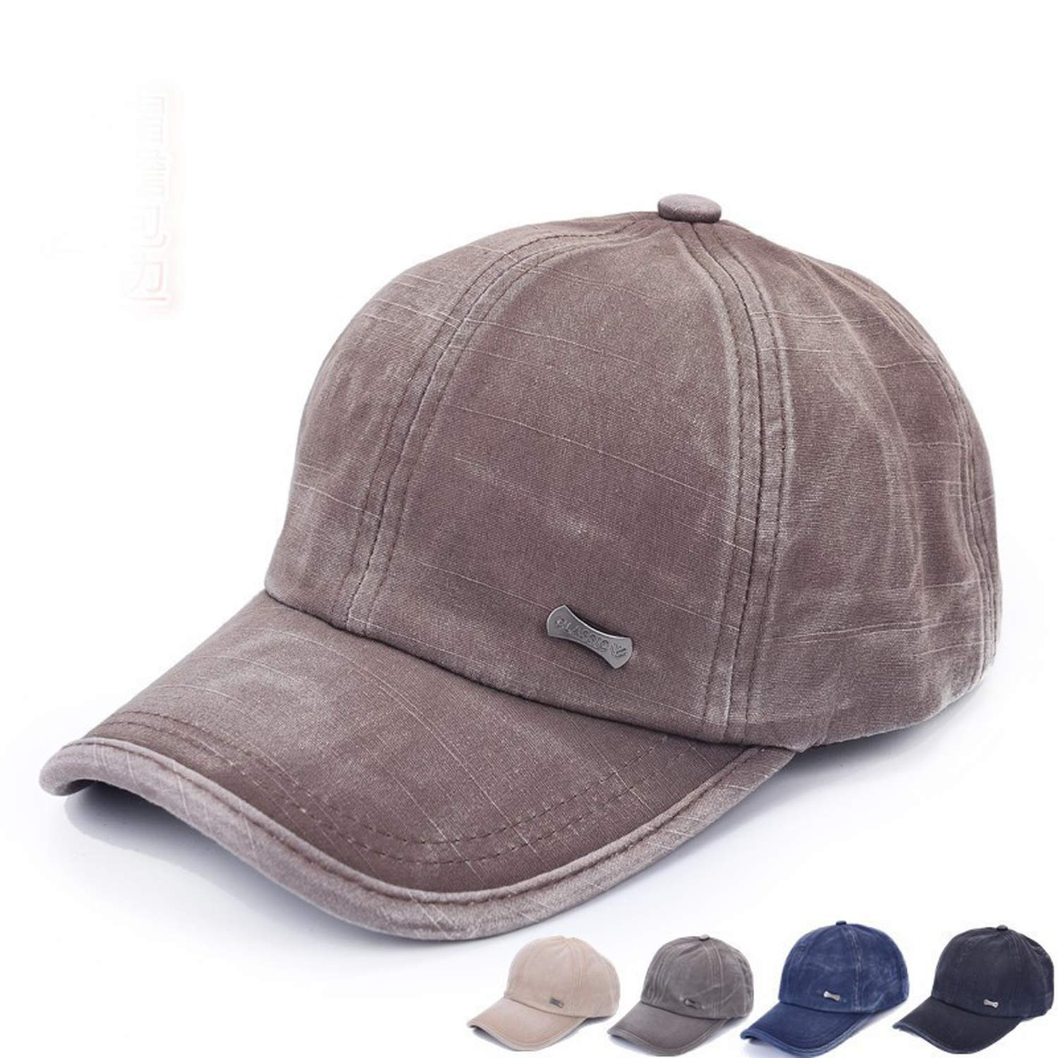 Summer Style Cadet Baseball Sport Cap Men Women Classic Adjustable Army Plain Hat New,as The Picture show4
