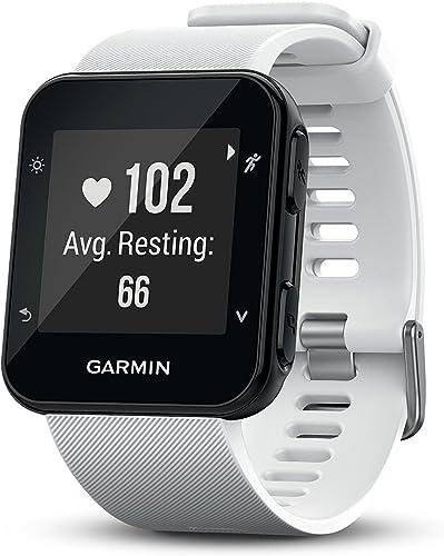 Garmin Forerunner 35 Watch, White Renewed
