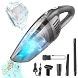 Benefast Portable Cordless Handheld Car Vacuum Cleaner, 7000PA Strong Suction, 120W High Power, Quick Cleaning, Wet Dry…