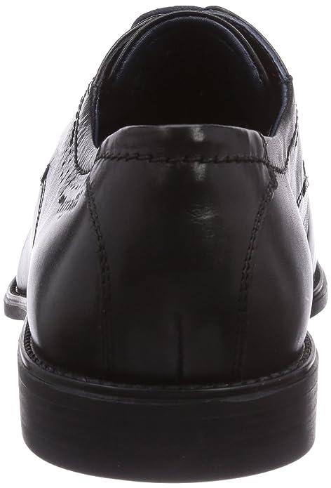 Bugatti R07041, Herren Derby Schnürhalbschuhe, Schwarz (schwarz 100), 40 EU