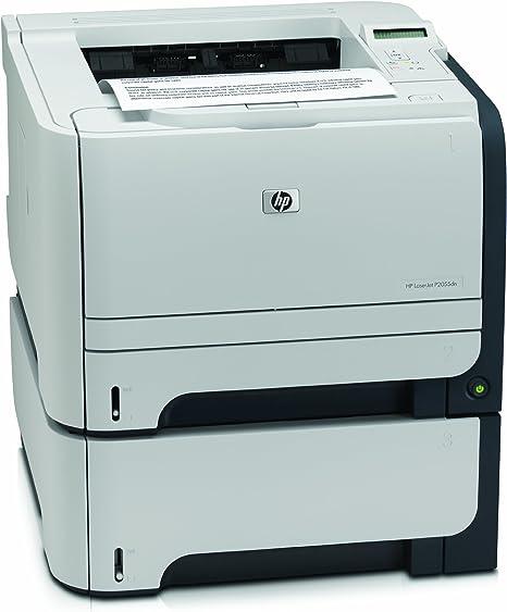 HP LaserJet P2055D - Impresora láser color blanco y negro (33 ppm ...