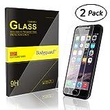 Bodyguard iPhone6S 6 ガラスフィルム 9H硬度 高鮮明 ガラス飛散 指紋防止 気泡ゼロ (2枚組)