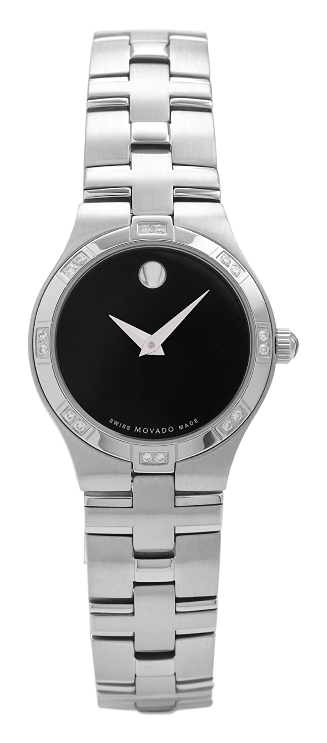Movado Women s 605032 Juro Diamond Accented Watch