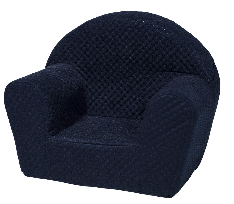 Kids Chair, Soft, Foam, Armchair, Toodler, Nursery, Baby (Colour: Blue) Velinda