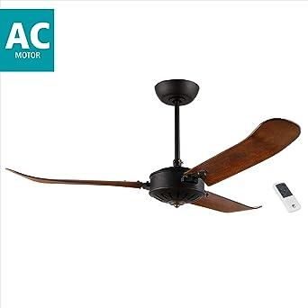 Eglo HOI AN Ventilador de techo, negro, 137: Amazon.es: Iluminación