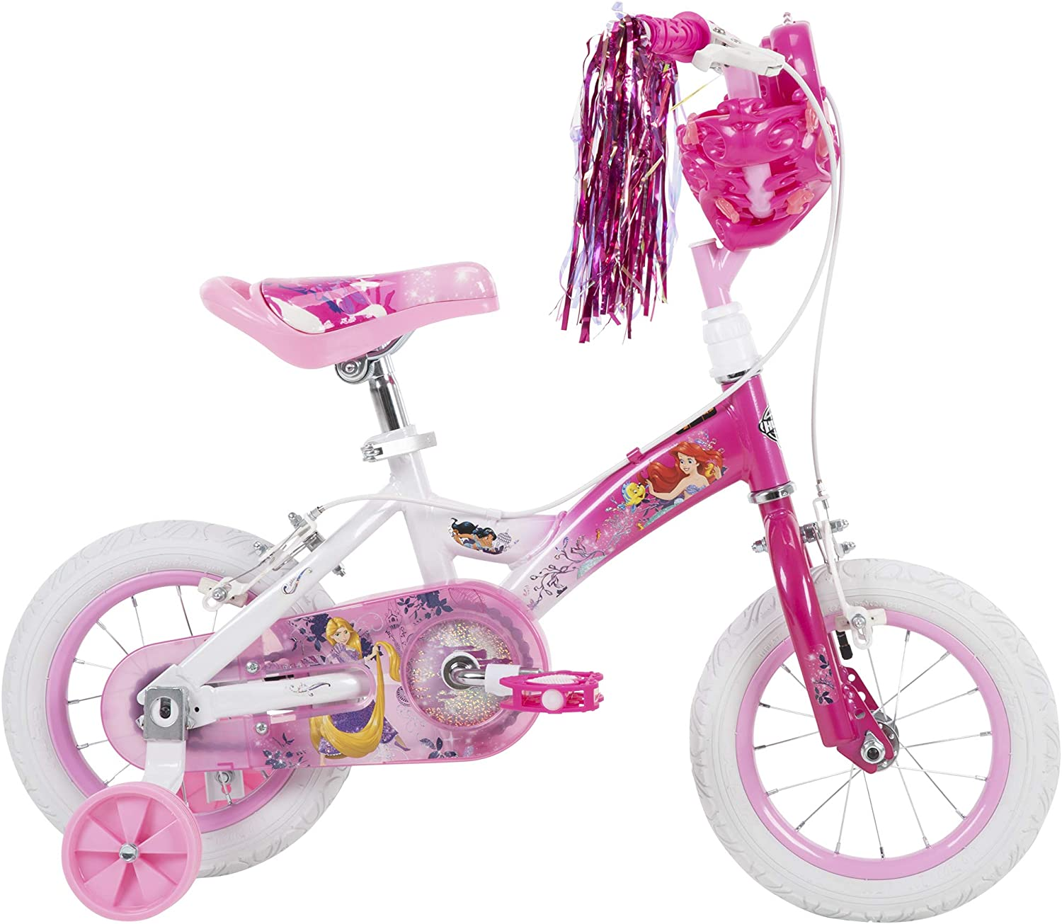 "CINDERELLA  New 130mm X 1/"" PINK 12/"" Kids replacement FORKS for BIKE"