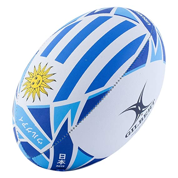 Gilbert Rugby World Cup - Balón de Rugby (tamaño 5), diseño de la ...