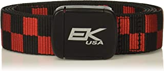 product image for EK USA 10886C-W64 Red/Black Kutt Off Sport Belt