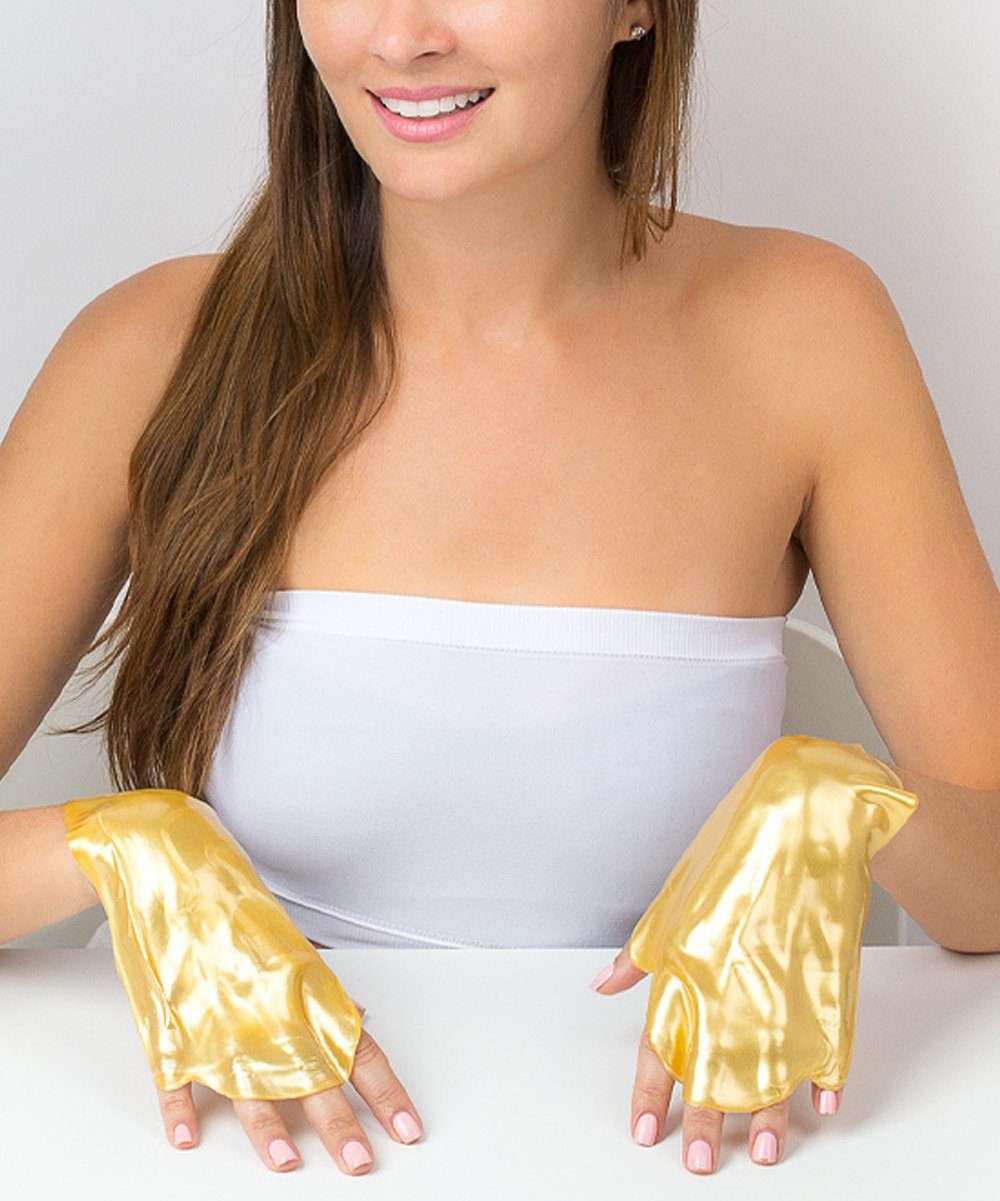 Gold Collagen Hand Mask for Deep Moisturizing and Hydrating (4-Pack)