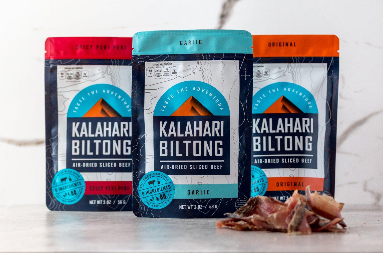 Kalahari Biltong | Air-Dried Thinly Sliced Beef | Spicy Peri Peri | 2oz (Pack of 8) | Zero Sugar | Keto & Paleo | Gluten Free | Better than Jerky by Kalahari Biltong (Image #6)