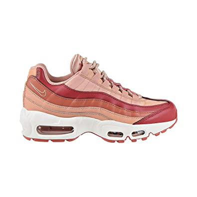 huge selection of 2dc76 7b894 Amazon.com | Nike Air Max 95 Women's Shoes Team Crimson ...