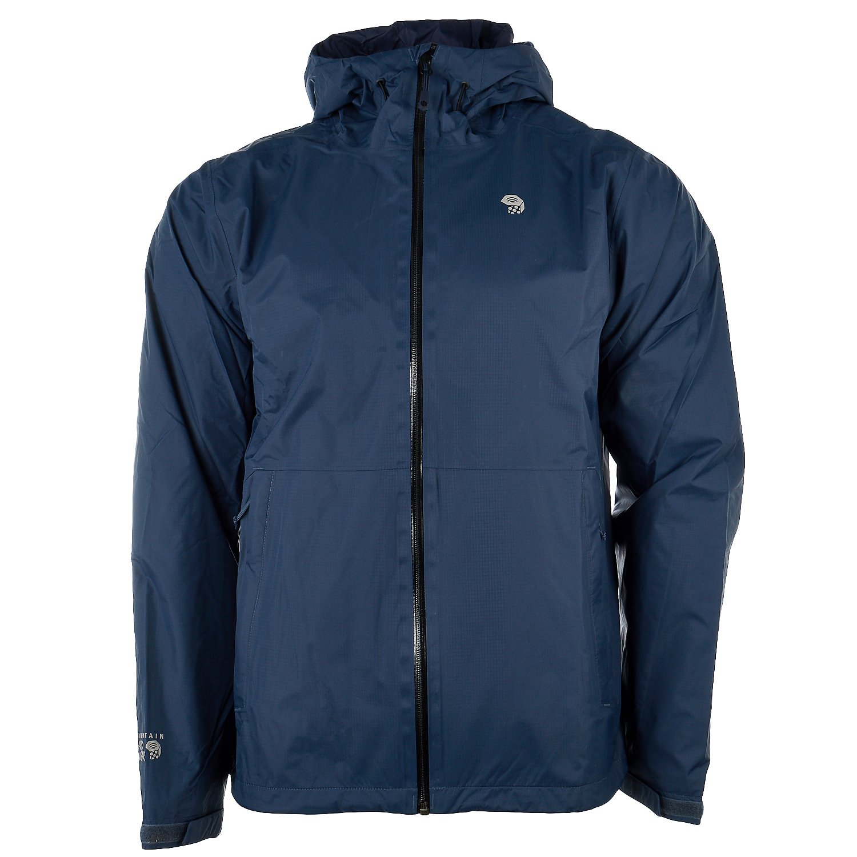 Mountain Hardwear Men's Finder Jacket, Zinc, 2XL