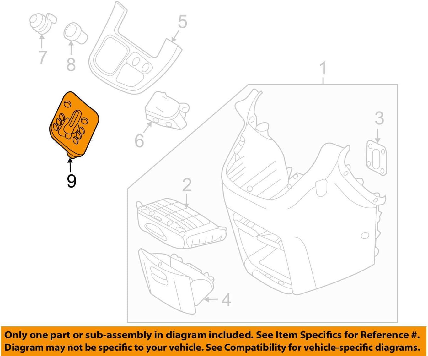 Genuine Hyundai 46750-4D300 Shift Lever Indicator Assembly