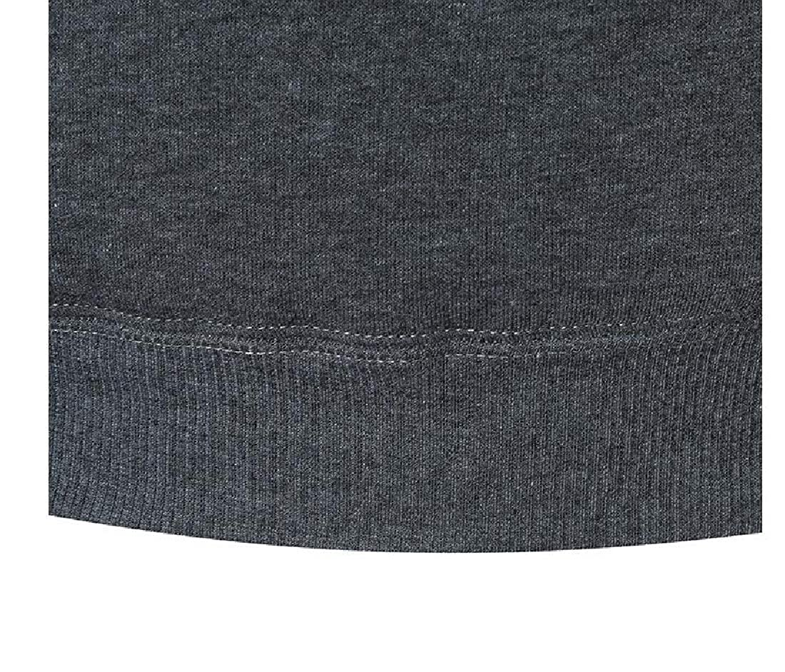 RDHOPE-Men Pullover Hoode Athletic Fit Thickened Pockets Sweatshirt