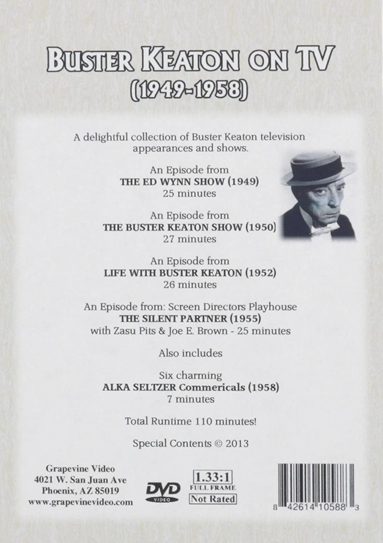 Amazon.com: Buster Keaton on Television: Buster Keaton, Joe E. Brown ...