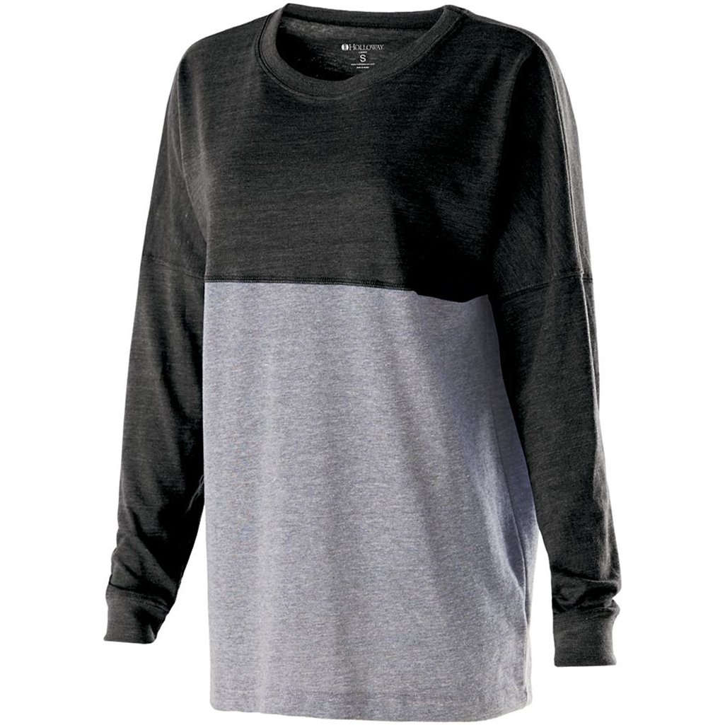 Holloway Juniors Low Key Pullover (Large, Vintage Black/Vintage Grey) by Holloway