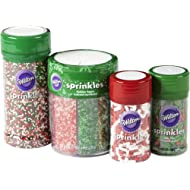 Wilton Christmas Sprinkles Set