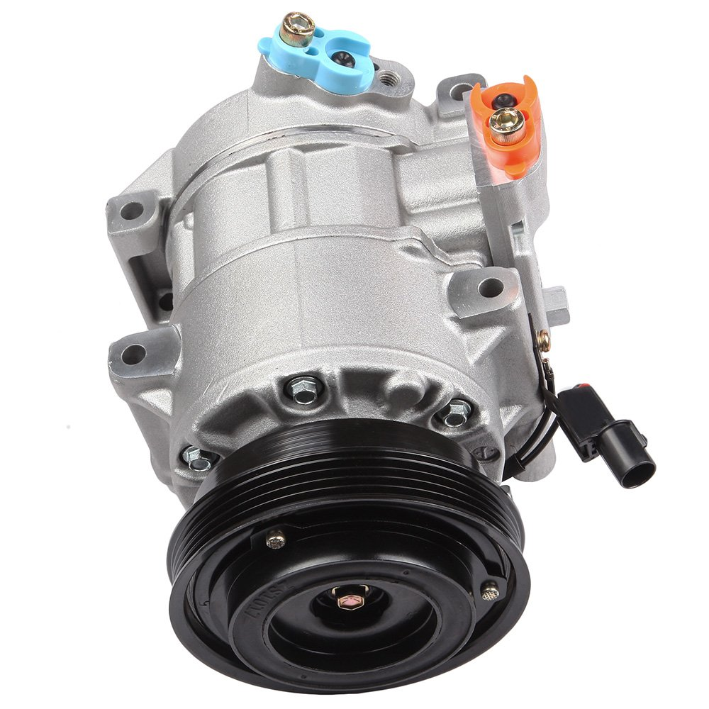 SCITOO Auto Repair Compressor Assembly CO 10980C, AC Compressor A/C Clutch Kit fit Kia Rio Rio5 1.6L 2006 2007 2008 2009 2010 2011 104121-5206-1713071