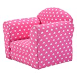 Amazon Price History for:Costzon Kids Sofa Armrest Chair Couch Children Living Room Toddler Furniture (pink)