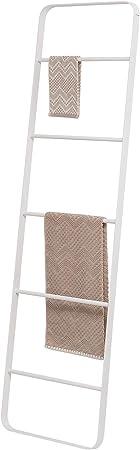 Sealskin Brix Escalera Decorativa Toallero, Metal, Blanco, 50x170x35 cm: Amazon.es: Hogar