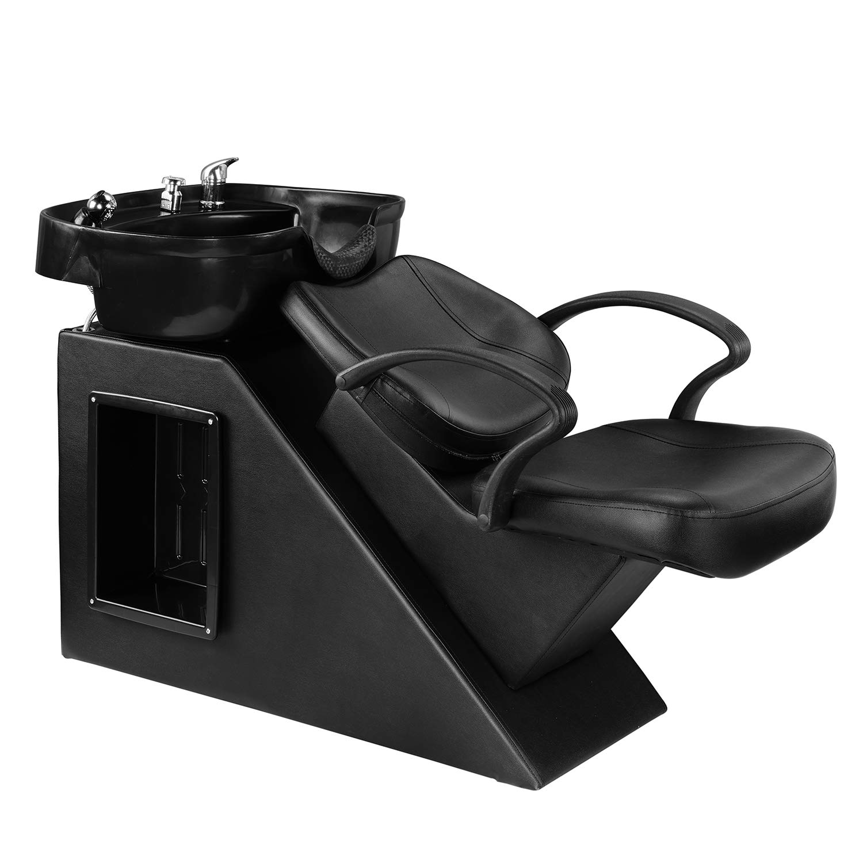 LSL Shampoo Backwash Barber Chair With Fashion Adjustable Bowl Sink For Salon And Spa LEISURELIFE