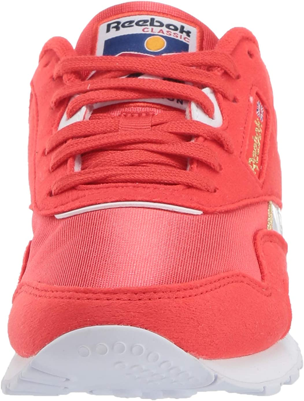 Reebok Classic Nylon Chaussures de sport pour homme Rouge Blanc Rouge Rayonnant