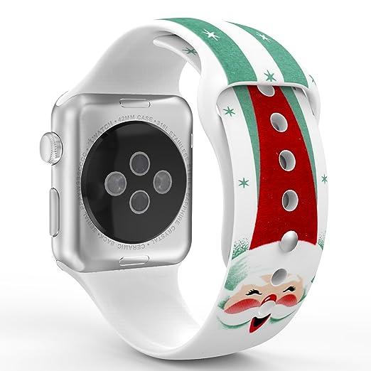 708 opinioni per MoKo Cinturino per Apple Watch 42mm, Morbido Braccialetto di Ricambio in
