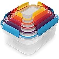 Joseph Joseph 81081 Nest Lock Multi-Size Container Set, Multicolor, 5 Piece