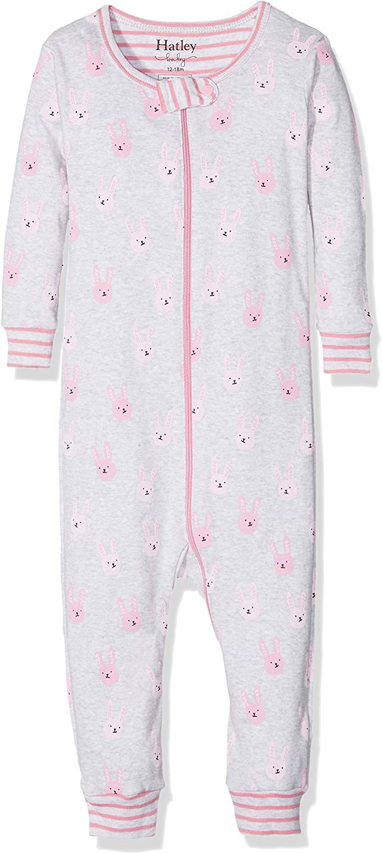 Hatley Baby Girls' Organic Cotton Footed Sleepers