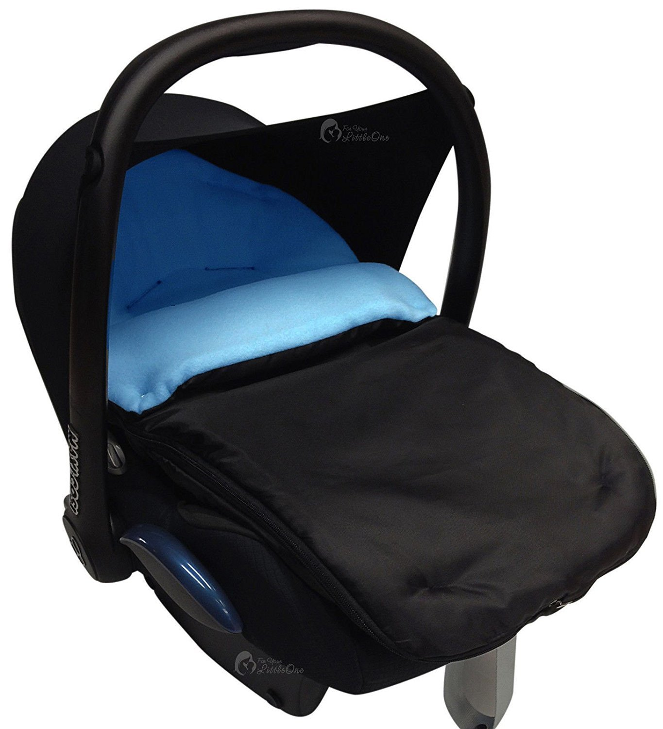 Car Seat Footmuff/Cosy Toes Compatible with Graco Turquoise For-Your-Little-One Others
