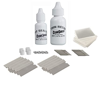Amazon.com: Clearshield Kit de reparación de parabrisas ...