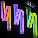 """8"""" TWISTER Lumistick Glow Light Stick Bracelets (40 bracelets)"""