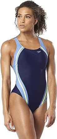 Speedo Women's Quantum Splice Powerflex Eco Onepiece Swimsuit-Manufacterer Discontinued