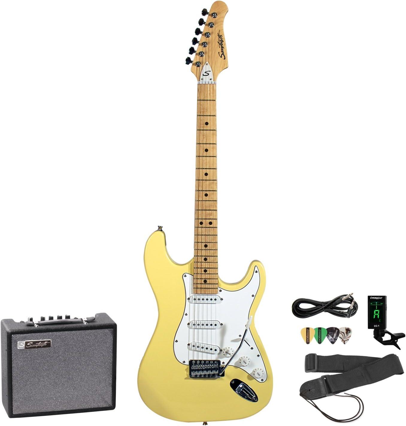 Sawtooth Electric Guitar Bundle (ST-ES-VCW-KIT-5)