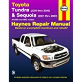 Toyota Tundra 2000 thru 2006 & Sequoia 2001 thru 2007 2WD & 4WD Haynes Repair Manual: All 2WD and 4WD Models