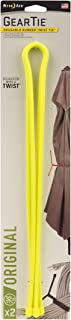 """product image for NITE IZE GT32-2PK-33 Gear Tie, 32"""" - 2-Pack, Neon Yellow"""